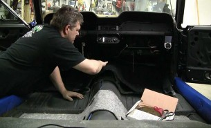 car Carpet install · automobile carpet replacement